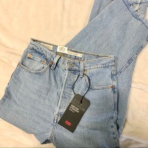 NEW Levi's Ribcage Straight Ankle Jean 27x27